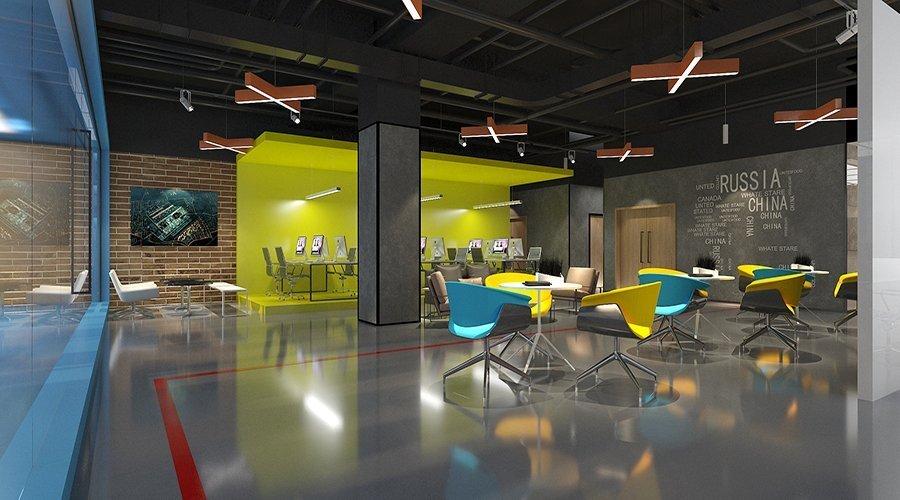 西湖生物科技办公室设计项目