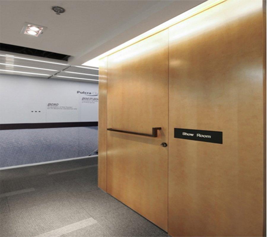 上海办公空间装修折叠式屏风