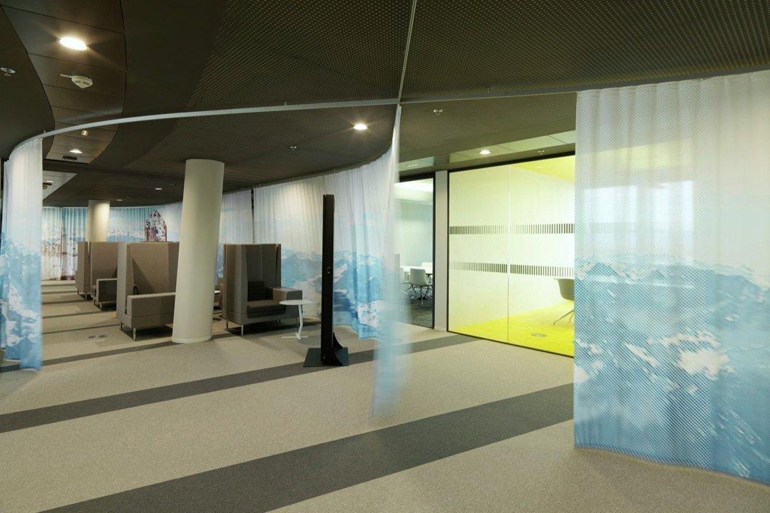 PVC编织地板在上海办公空间装修的特性