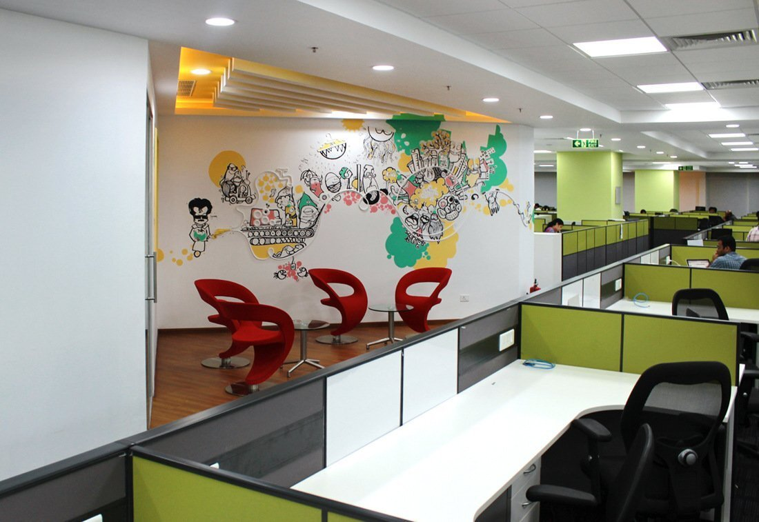上海办公空间装修涂料的安全使用