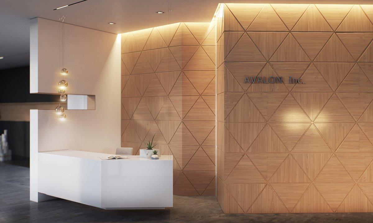 简约风格上海办公空间装修