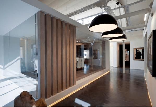 开放式天花在上海办公空间装修时的隐形成本