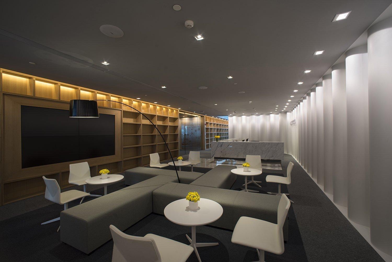 上海办公室装修中的一种新材料-科技木皮