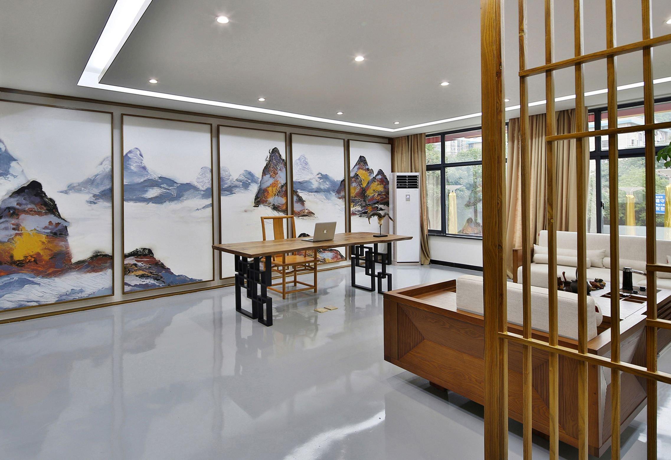 上海办公室装修前台设计要点