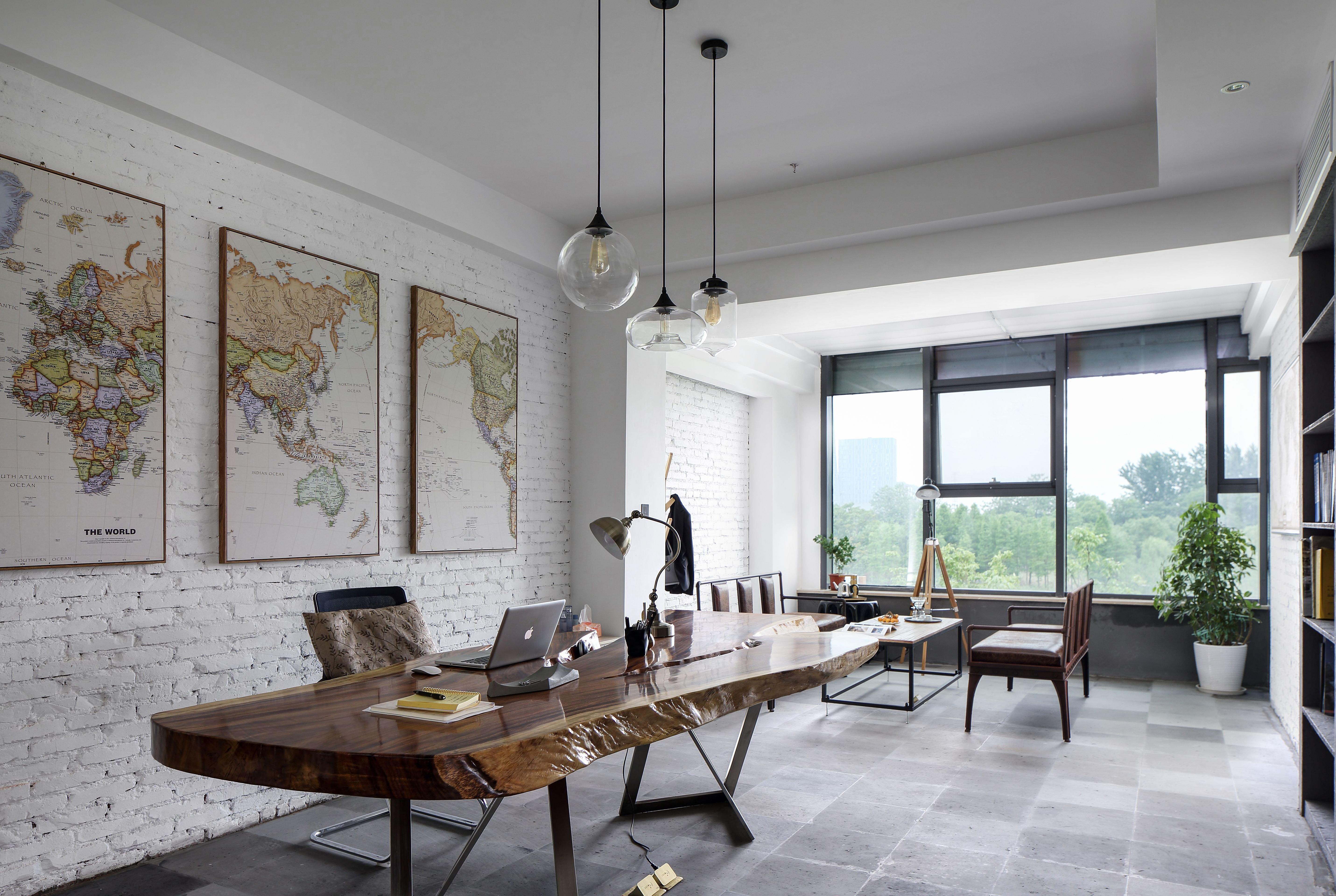 油漆色彩在上海办公室装修时注意要点