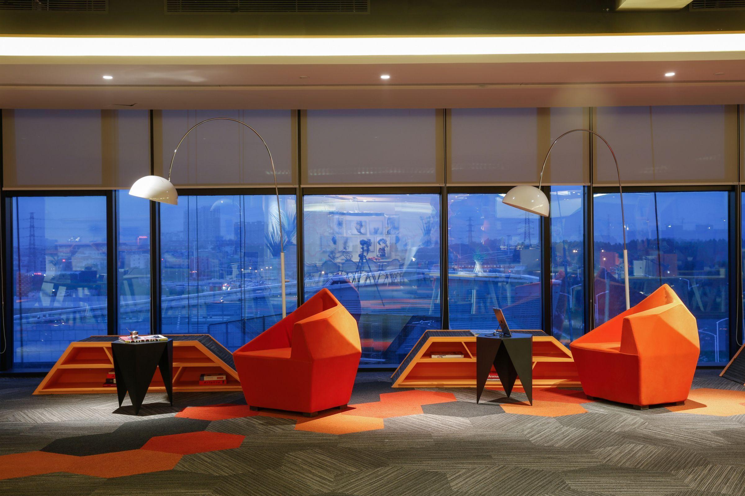 上海办公室装修常见的吊顶方式
