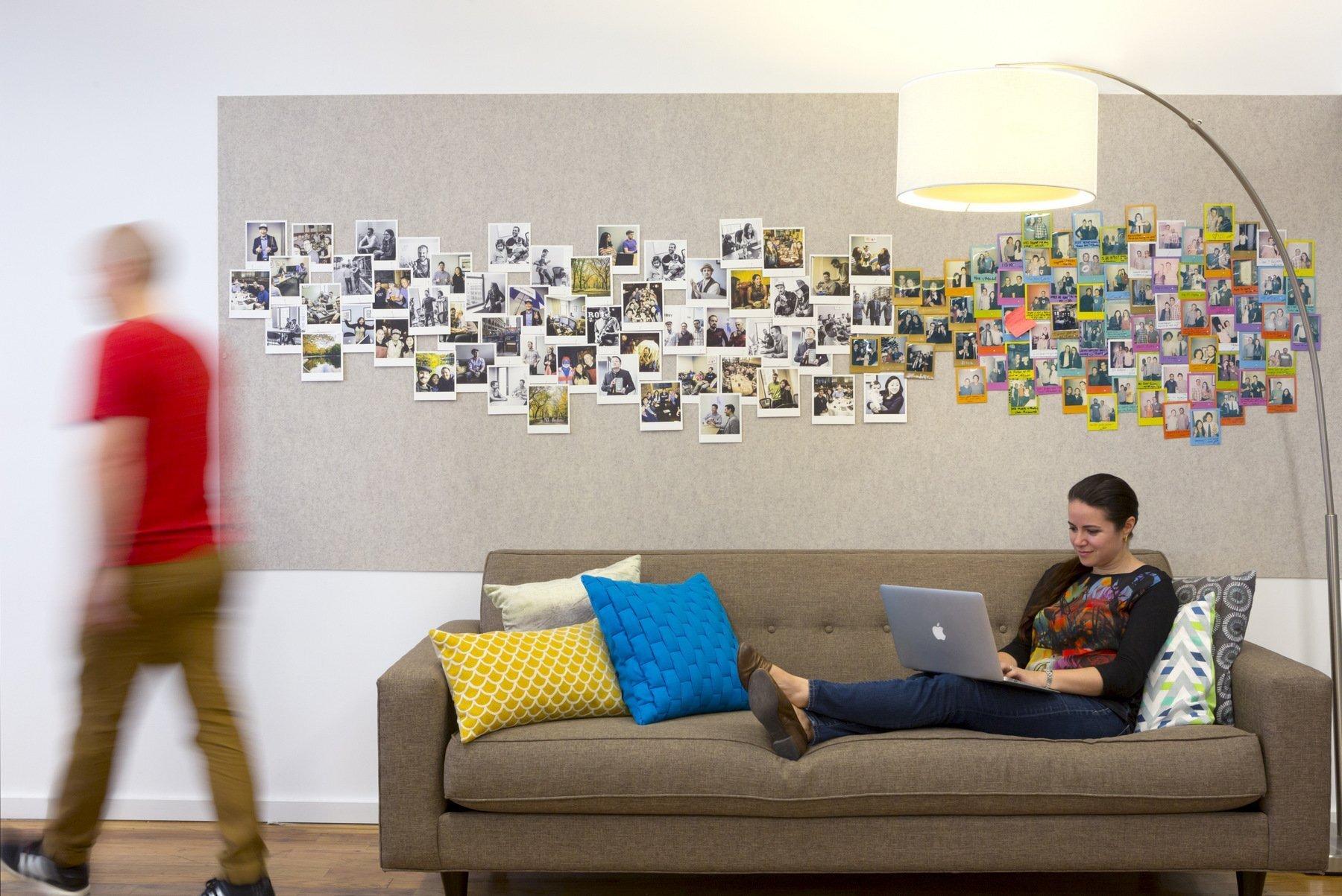 上海办公室装修中墙纸,乳胶漆,艺术涂料对比