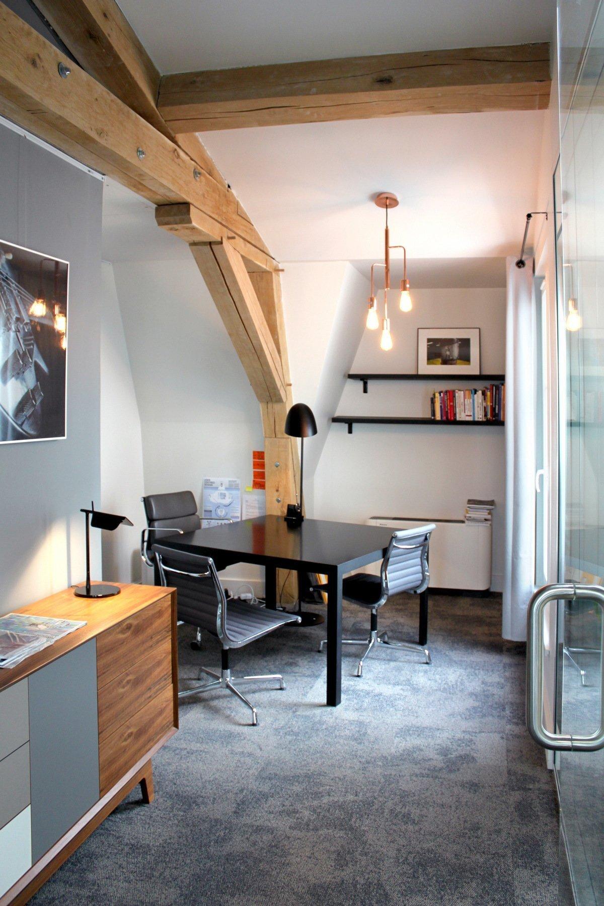 办公室装修LOGO墙设计