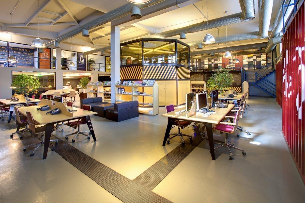上海办公室装修中空间怎么分隔