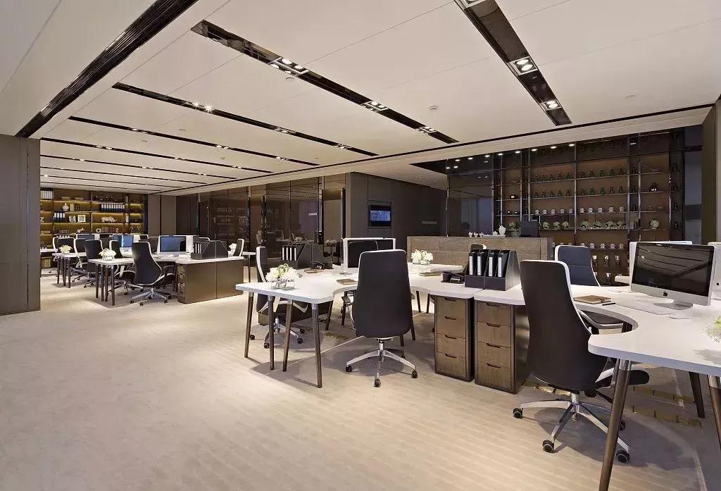 深圳恩美微电子办公室装修设计