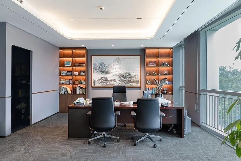 锐科电子上海办公室装修设计