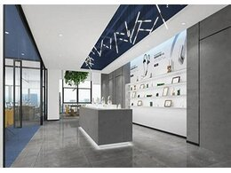深圳美恩微电子公司办公室装修设计