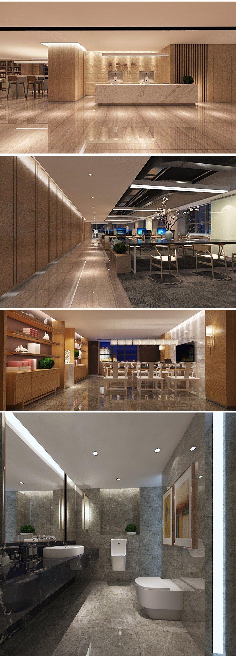 凯隆地产-上海办公室装修设计