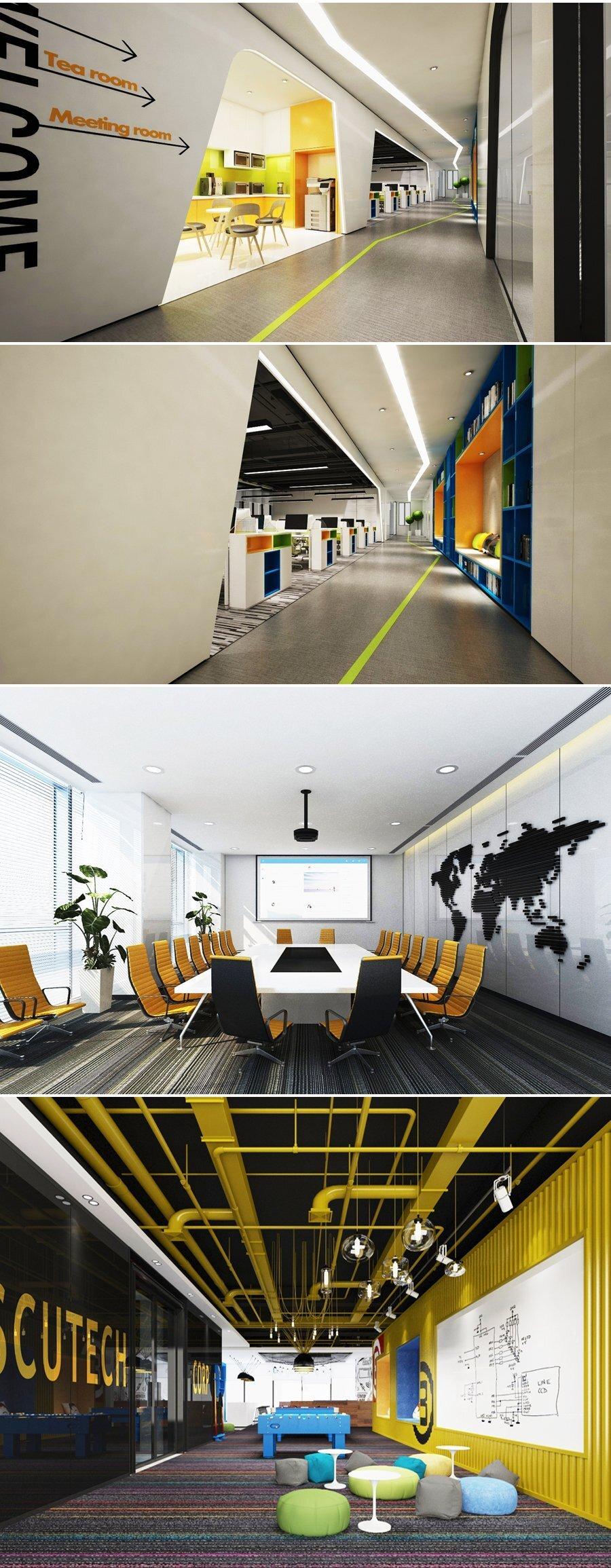 统一通信-上海办公室装修