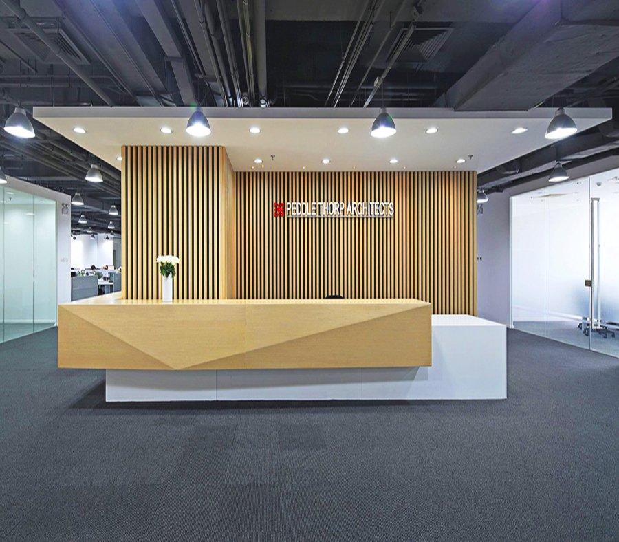 柏涛建筑-上海办公室装潢