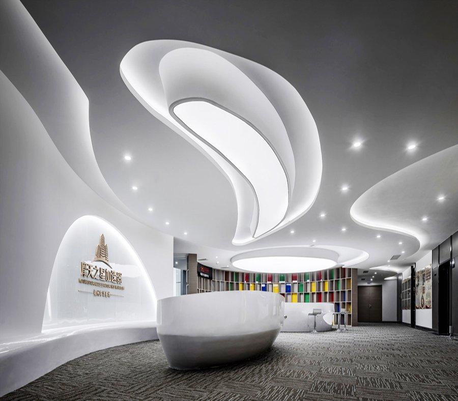 摩天之星-办公室装修设计