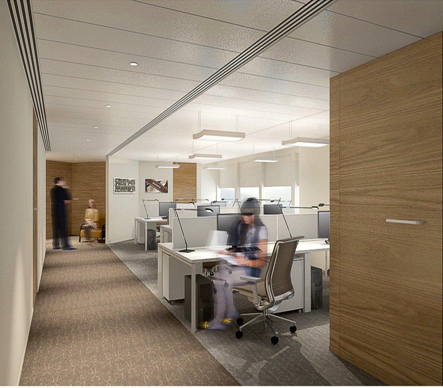大汇贸易-办公室装修设计