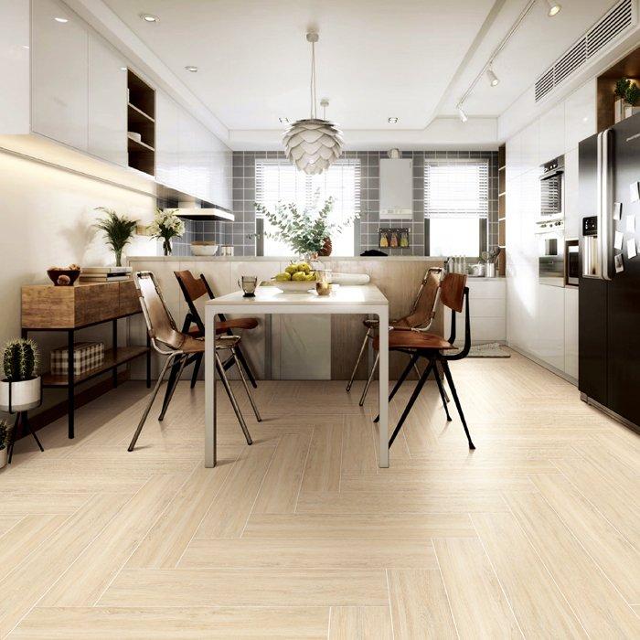 木地板与木纹砖差异与优缺点