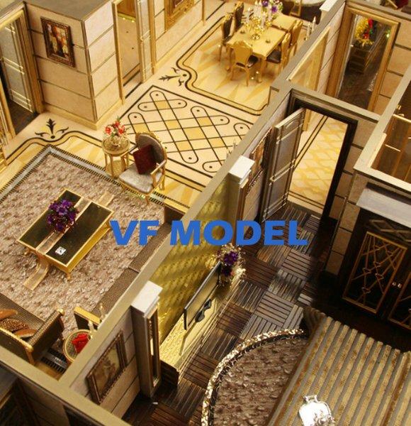 Latest Unit Type Monomer Model of Residential Houses