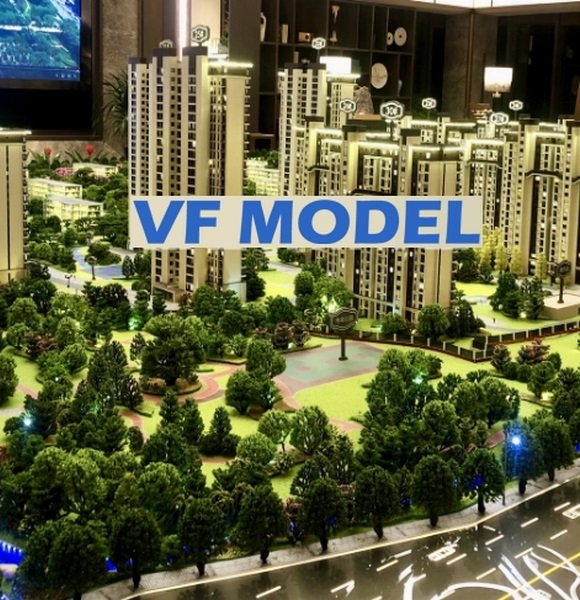 High-end Residential Real Estate Physical Model Samples