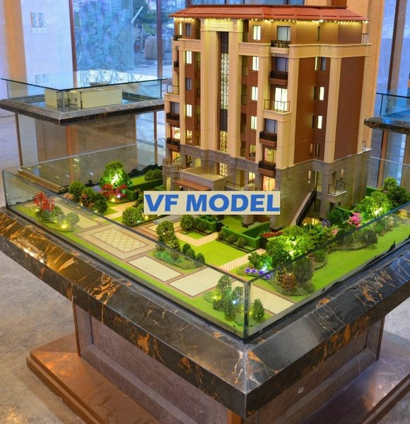 Latest Residential House Apartment Physical Models