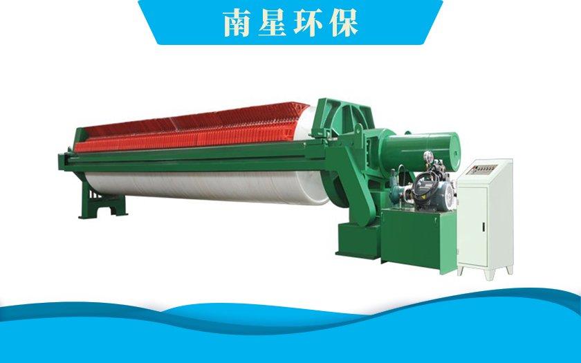 洗沙行业ZWYB-1000型自动拉板压滤机