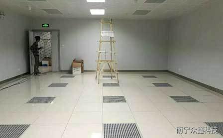 机房地板的装修使用中常见的问题和解决办法
