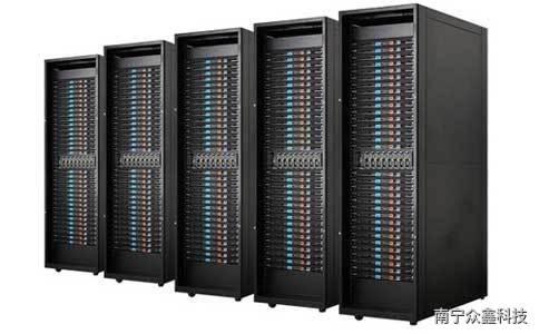 一个42U标准机柜能放几台服务器