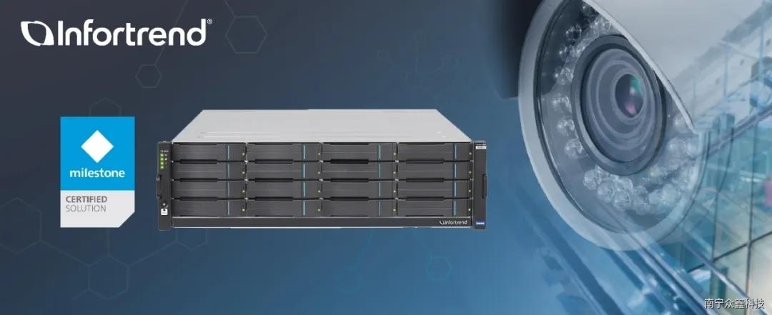 Infortrend EV5000 Gen2超融合一体机全面升级,专为监控定制
