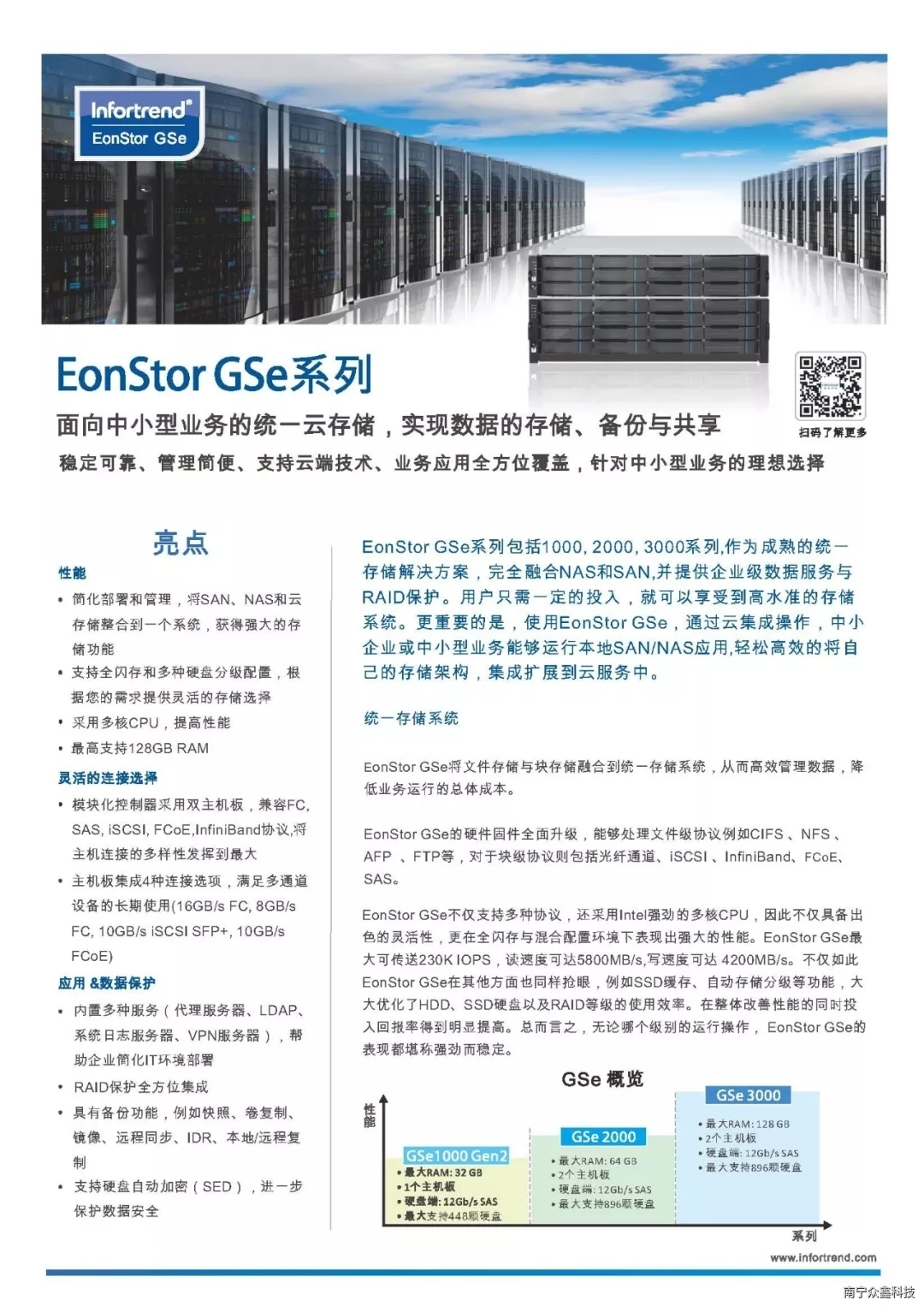 Infortrend普安存儲EonStor GSe
