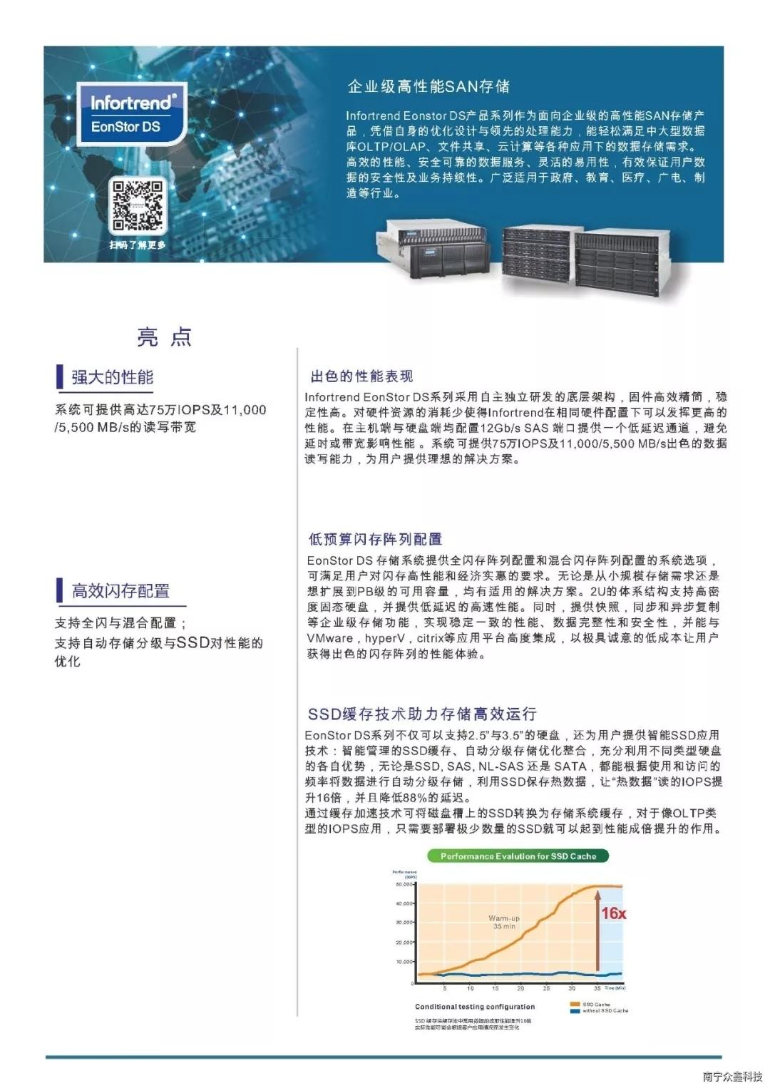 Infortrend普安存儲EonStor DS