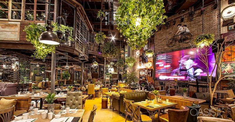 音乐餐厅桌椅19