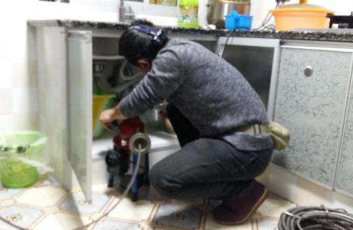 彭水疏通厨房下水道图片大全