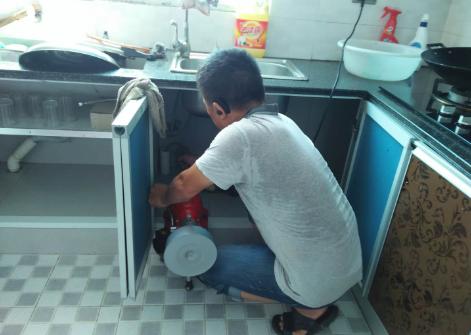 博文驾校厨房下水道