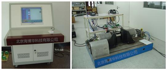 电机对拖平台系统照片