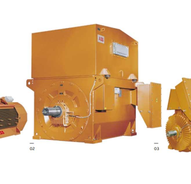ABB电机采矿业感应电动机