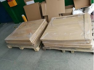 徐州的李先生购买的食品圆刀片已经定制完成!包装完成待发货!