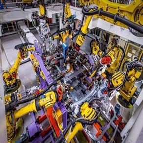 机械人设备流水线,机械手轨道系统工程