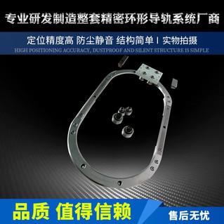 厂家定制28mm重载高速环形导轨 圆弧滚轮导轨