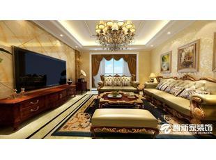 哈尔滨别墅装修 欧式风格案例