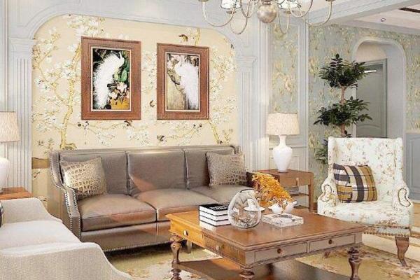 装饰房子时,如何搭配壁纸与窗帘