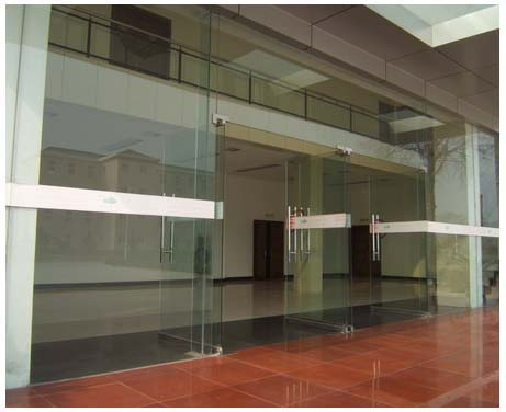 成都成华区安装玻璃门案例