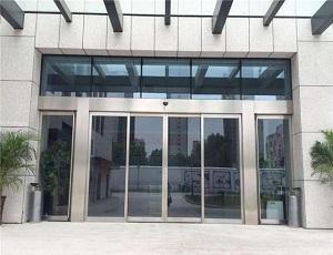 不锈钢玻璃门无框玻璃门平开玻璃门
