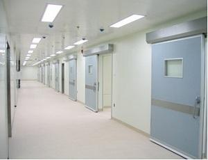 医院平移门 感应手术气密门安装维修