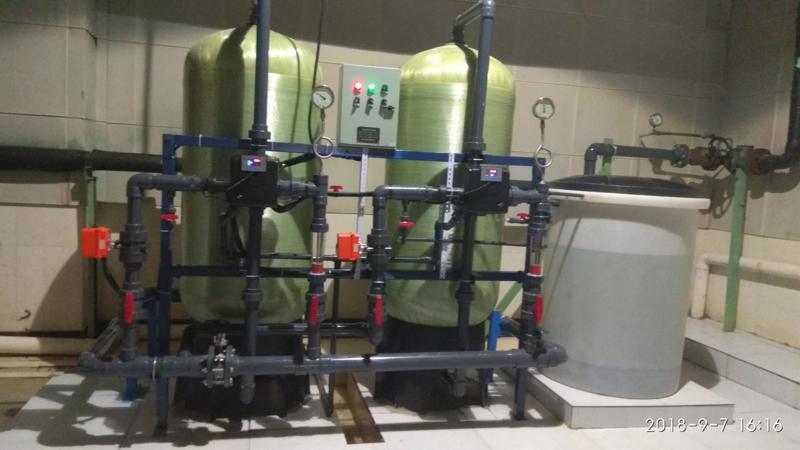 黔江煙廠10T軟水設備