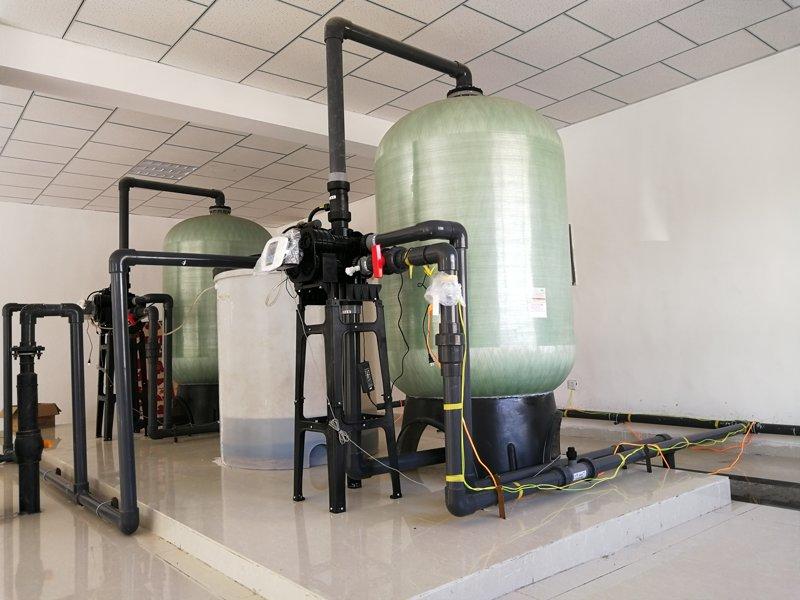 40T軟水系統