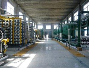 高壓鍋爐脫鹽水處理設備