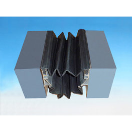 外墙变形缝橡胶嵌平型平面ER2