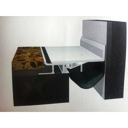 金属盖板承重型楼地面变形缝转角形D-QGC