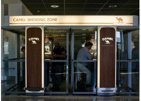 机场用吸烟室